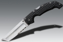 Нож Cold Steel Voyager Lg. Tanto 50/50 Serrated 29TLTH