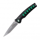 Нож MCUSTA Katana, black/green, MC-0044C