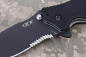 Нож Zero Tolerance ZT 0350ST Folder Black G-10 полусеррейтор